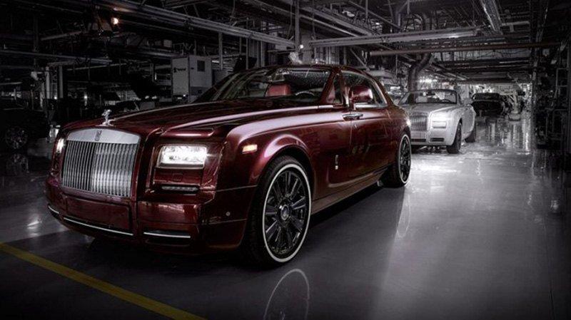 Rolls-Royce попрощался с Ghost коллекционным выпуском модели