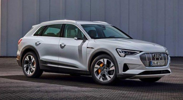 Audi рассекретила базовую модификацию электрокроссовера Audi e-tron