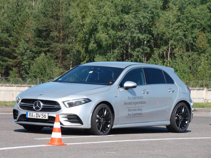 Mercedes-AMG разорвали тишину под Минском