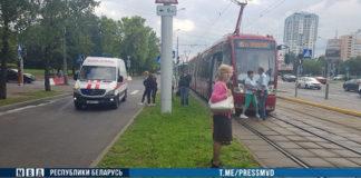 В Минске ребенок попал под трамвай