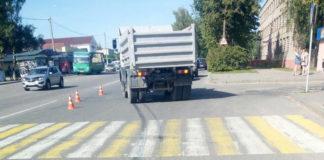 В Полоцке грузовик сбил 7-летнего ребенка