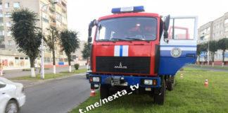 В Борисове у пожарного автомобиля отказали тормоза