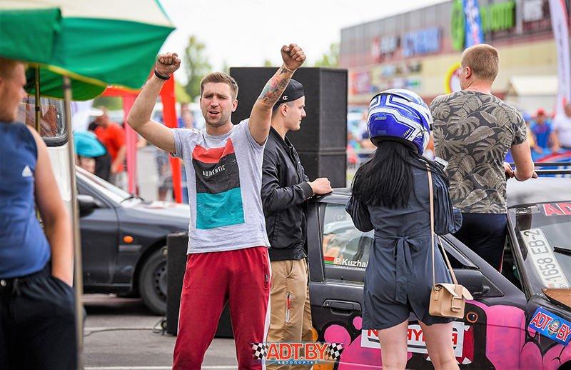 """Акция """"Спортсмены - за безопасность дорожного движения"""" - 2019, 2-ой этап. Полоцк"""