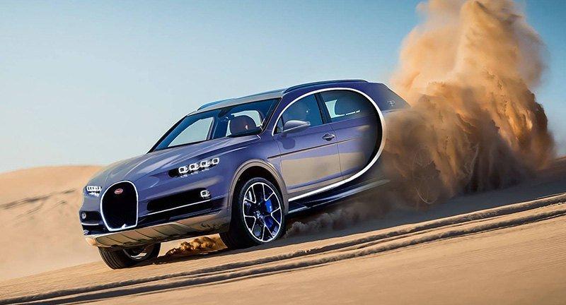 Bugatti начал разработку внедорожника