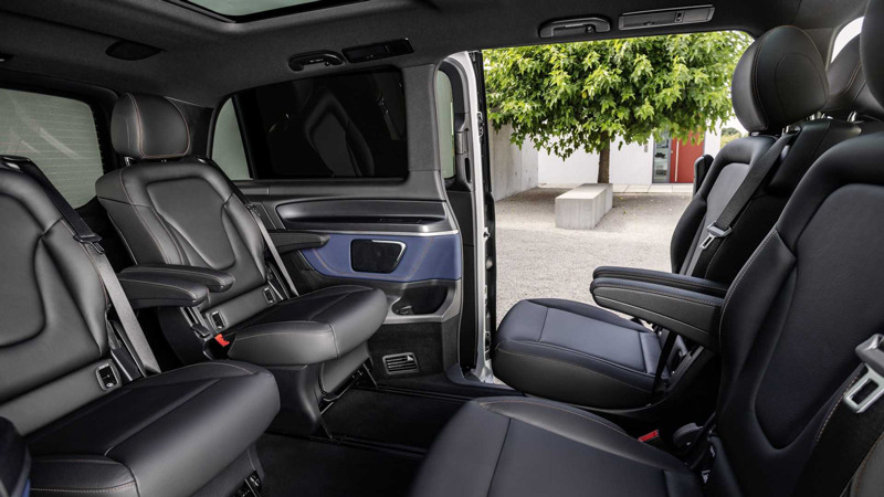 Электровэн Mercedes-Benz EQV