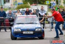 Победа команды «Nakayama Team» по джимхане в Могилеве