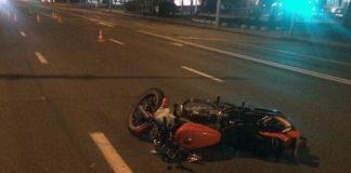 На Немиге водитель мотоцикла совершил наезд на пешехода