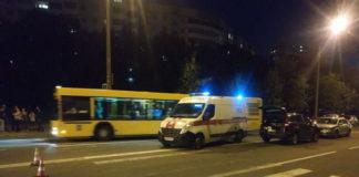 В Минске пешеходном переходе совершен наезд на двух пешеходов