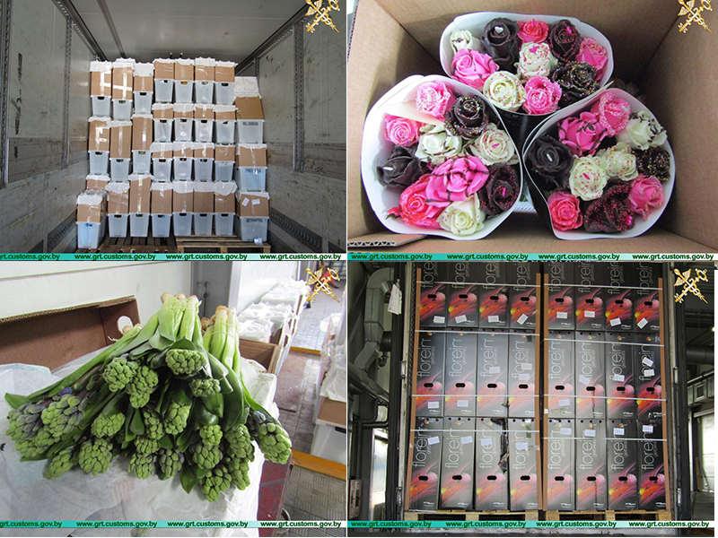 С начала года пресечен незаконный ввоз более 800 тыс. цветов