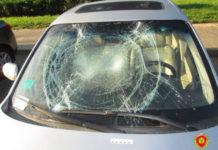 Минчанин разбил три автомобиля из-за ссоры с девушкой