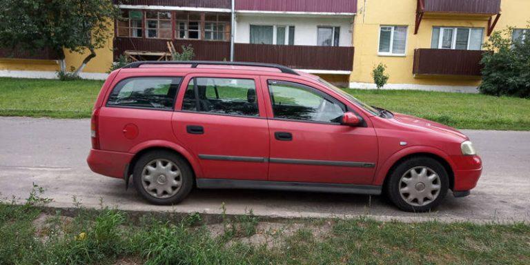 По горячим следам раскрыт угон автомобиля в Пинском районе