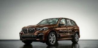 Создан бронированный внедорожник BMW