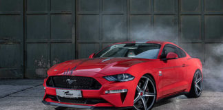 Германский тюнер сделал Ford Mustang мощнее Ferrari