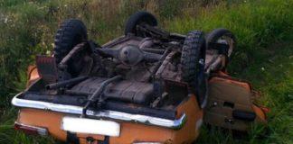 Пьяный бесправник вылетел в кювет в Наровлянском районе