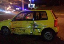 В Минске столкнулись легковушка и мотоцикл. Разыскиваются очевидцы