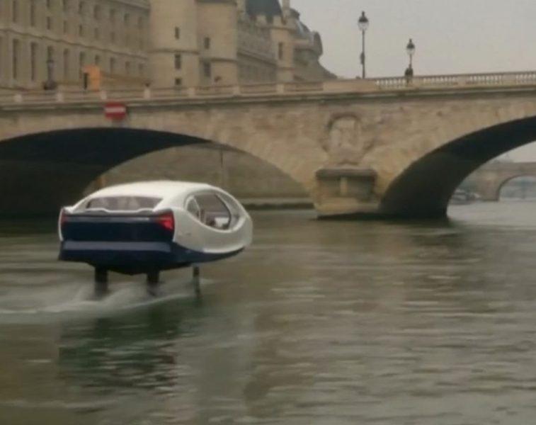 Французская полиция остановила «летающее такси» в Париже