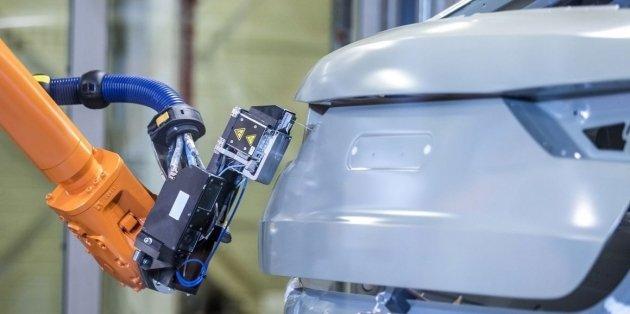 Audi тестирует новый способ покраски кузова