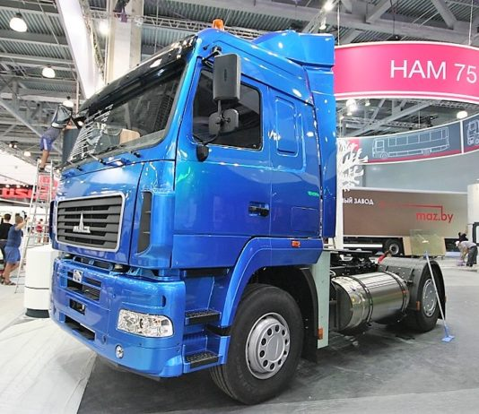 автомобиль МАЗ-54А02К-520-030