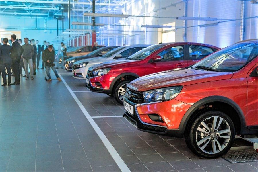 Новый автоцентр Lada и Renault в Минске