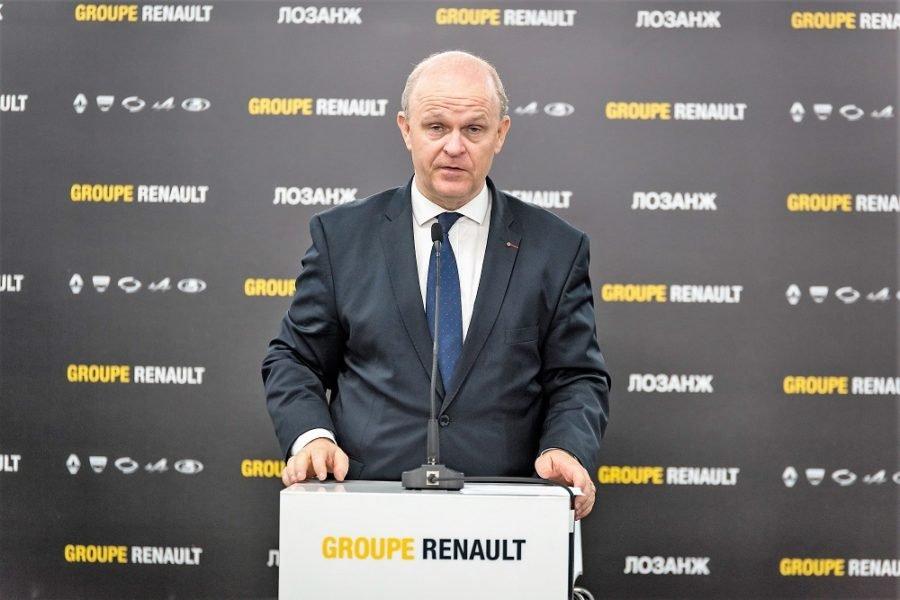 Вице-президент Renault в регионе Евроазия Николя Мор