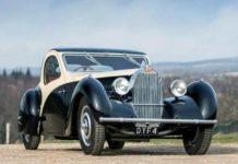 Единственный в мире Bugatti продали за 1,5 млн фунтов