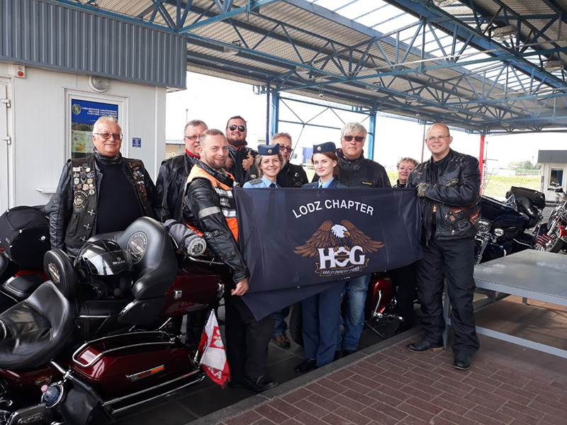 Первые участники мотофестиваля H.O.G. Rally Minsk 2019