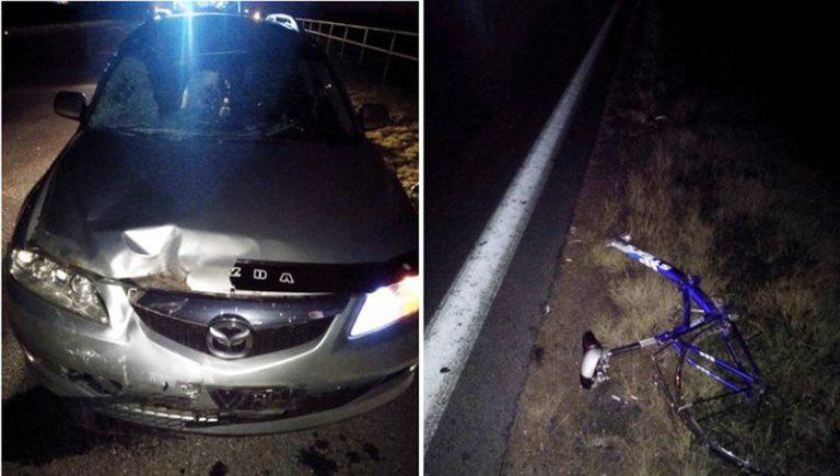 В Червенском районе погиб велосипедист. Он ехал посередине полосы