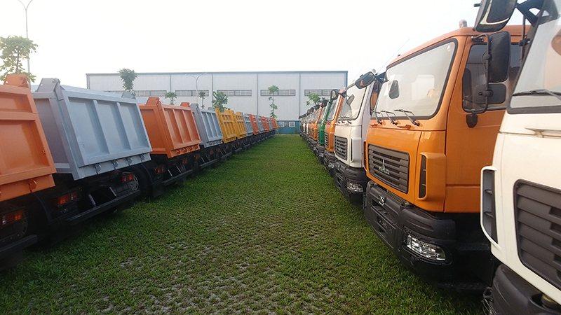 «Зубры» в тропиках. Во Вьетнаме открыли завод по сборке грузовиков МАЗ