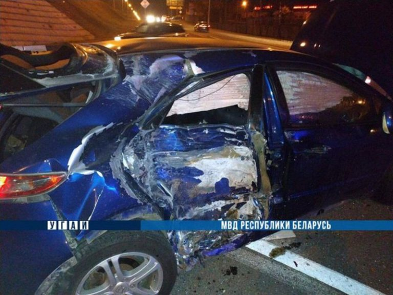 В Минске в Степянке погиб мотоциклист