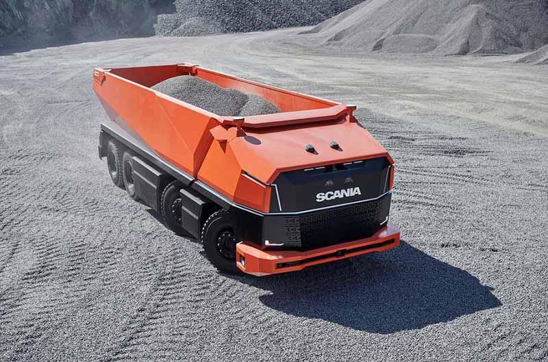 У концепта Scania нет кабины