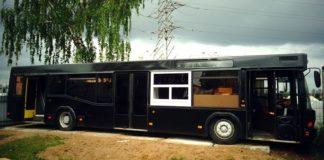 Фудтрак из автобуса МАЗ 103