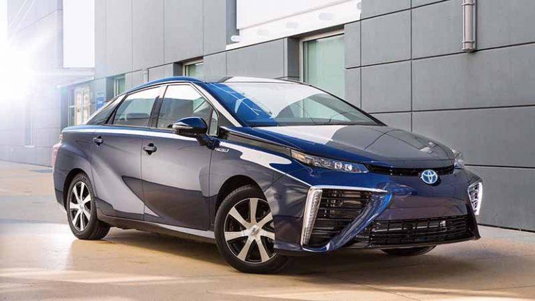 Toyota анонсировала обновление модели Mirai