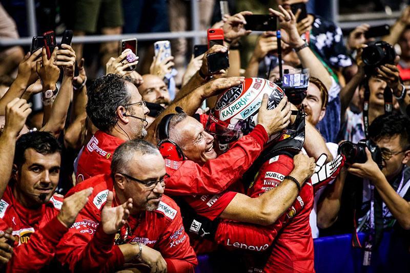 «ФОРМУЛА-1»: Гран-при Сингапура-2019.