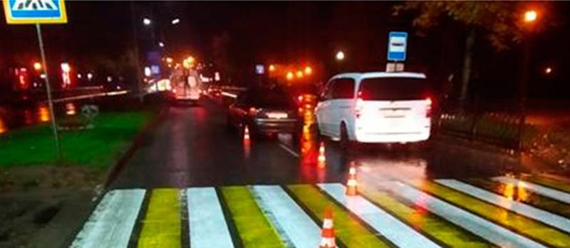 В Новополоцке сбита женщина-пешеход