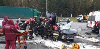 Серьезное ДТП в Минске. На проспекте Независимости столкнулись 3 легковых автомобиля