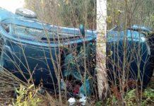 В Витебском районе лоб в лоб столкнулись две легковушки