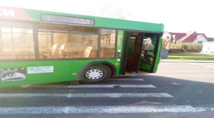 В Пинске рейсовый автобус сбил пешехода