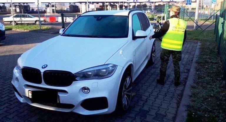 У гражданки Беларуси на границе конфисковали BMW X5