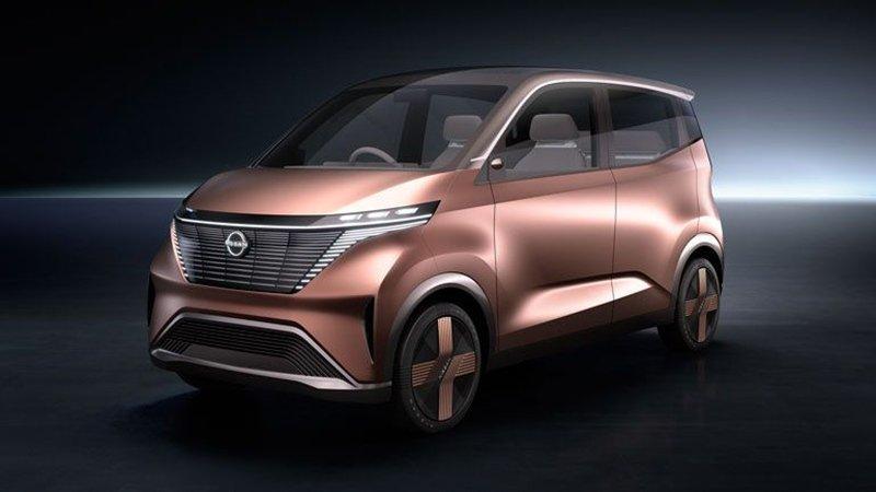Nissan представит в Токио электрокар Nissan IMk