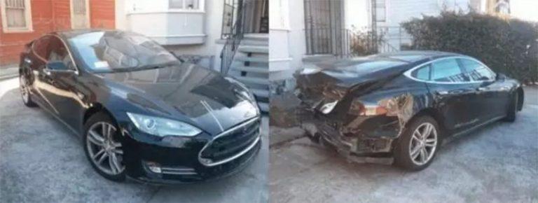 Автомобили Tesla массово разбиваются из-за недоработанного ПО