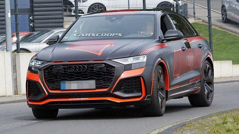 Семейство Audi Q8 скоро получит лучшую версию RS, вероятно, уже 20 ноября.