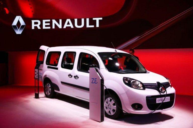 Renault представил электрокары на водородном топливе