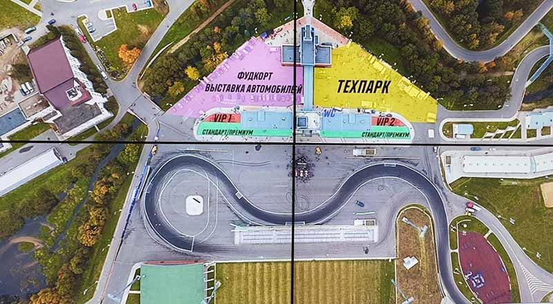 Дым столбом, мощные авто и Царь… В Раубичах прошел Кубок Восточной Европы по дрифтингу!