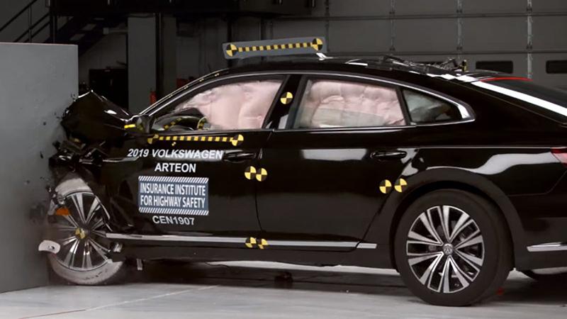Volkswagen Arteon провалил краш-тесты