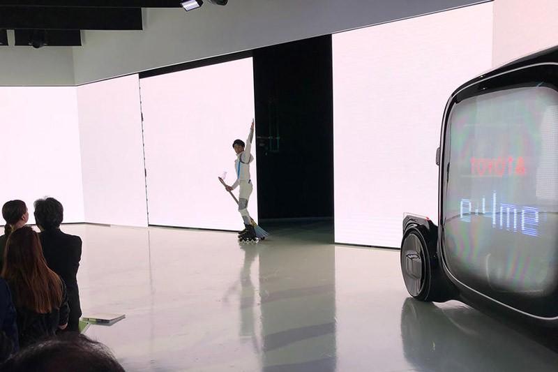 Toyota сделала электрическую летающую метлу