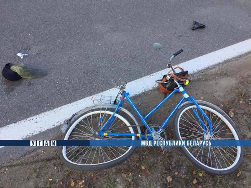 В Щучинском районе фура насмерть сбила велосипедистку (Видео)