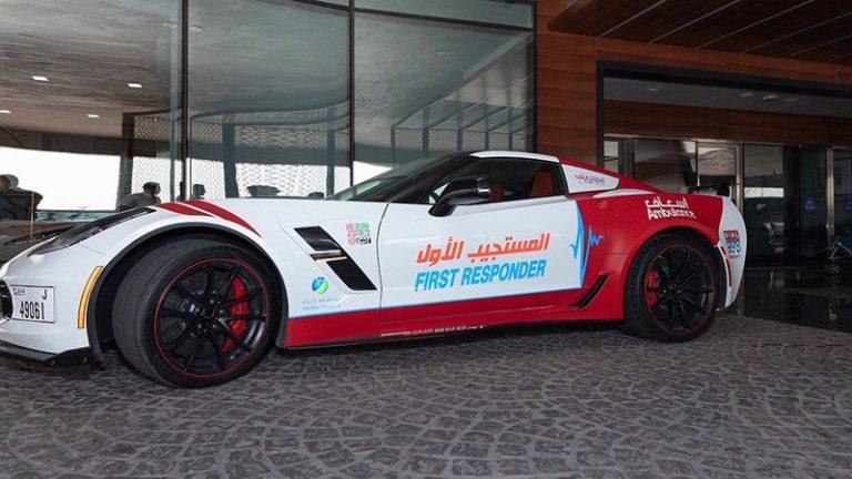 В ОАЭ скорая помощь пересела на суперкары