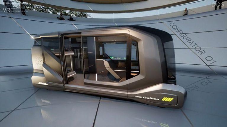 Немецкая компания Erwin Hymer Group, являющаяся ведущим производителем автодомов, представила беспилотный концепт Galileo.