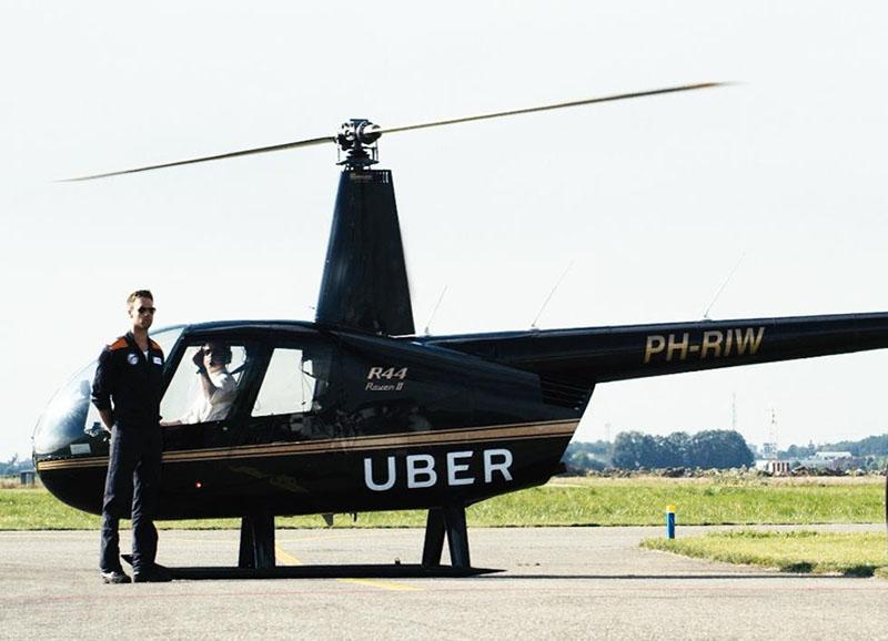 Uber запустил аэротакси