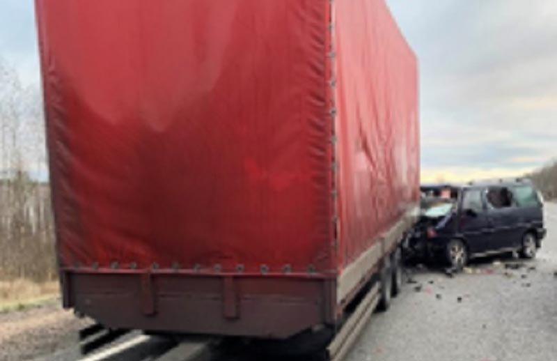 В России в результате ДТП погибли три белоруса